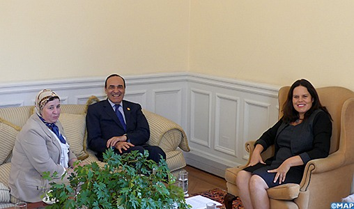 M. El Malki s'entretient à Santiago avec la présidente de la Chambre des députés du Chili