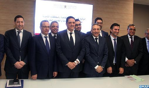 Signature à Rabat de conventions relatives aux plans de développement des CCIS