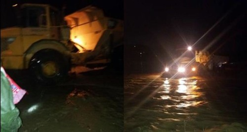 Taza : Sauvetage de cinq personnes encerclées par les eaux de l'oued Al-Hadr
