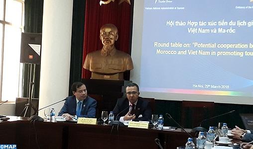 La promotion du tourisme entre le Maroc et le Vietnam au centre d'une table ronde à Hanoï