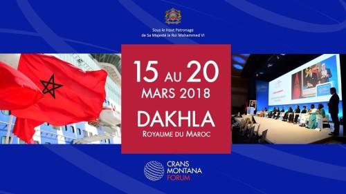 L'Afrique et la coopération Sud-Sud au cœur du débat du Forum de Crans Montana à Dakhla