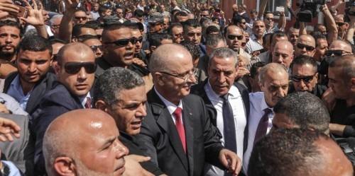 Gaza: Explosion au passage du convoi du Premier ministre palestinien
