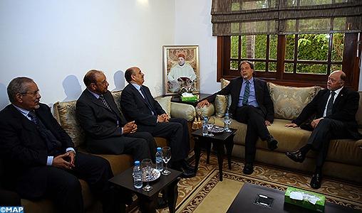 Rabat: Echange des points de vue sur les questions les plus importantes concernant le conflit du Sahara marocain