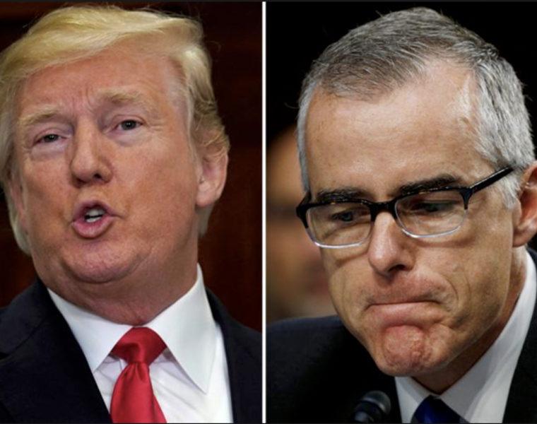 USA: l'ex-directeur adjoint du FBI se dit victime «d'attaques dingues» du président Trump