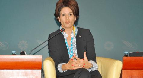 Nezha Bidouane, star incontestée de la journée de la francophonie à Copenhague