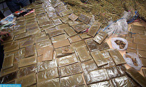 Douanes : 476,7 kg de drogues dures saisis en 2017