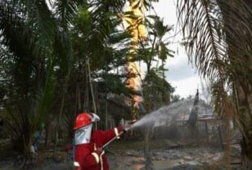 Indonésie : 10 morts dans l'incendie d'un puits de pétrole