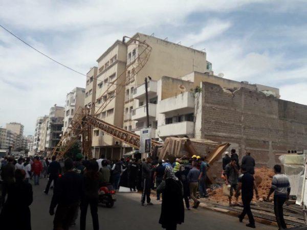 Accident mortel d'une grue à Maarif : est-ce que cela aurait pu être évité ?