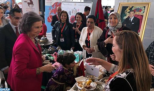 Participation distinguée du Maroc au 23ème Bazar diplomatique de bienfaisance à Madrid