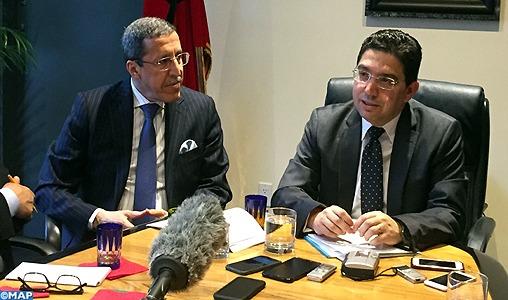 Les développements de la situation au Sahara expliquée par M. Bourita à la presse internationale accréditée à l'Onu
