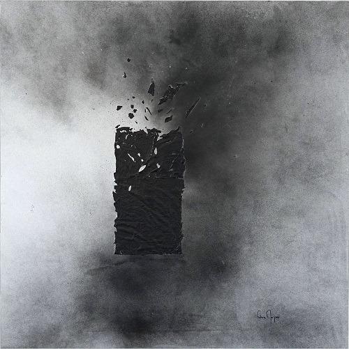 Exposition Obsidienne de Fatime Zahra MORJANI Vernissage le 26 avril à 18h30 Galerie de l'Institut français de Rabat