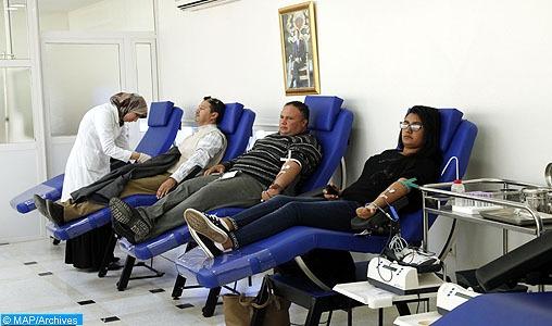 Caravane de don de sang: 47161 poches de sang collectées dépassant largement l'objectif initial fixé à 37100