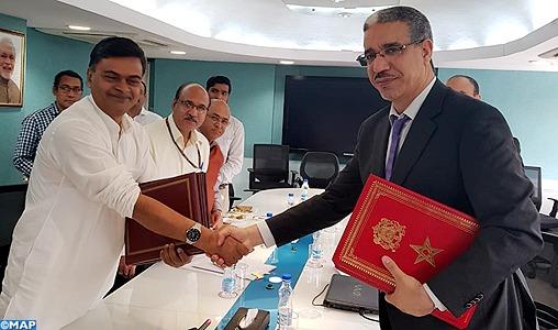 Le renforcement de la coopération dans le secteur de l'énergie au centre d'entretiens maroco-indiens à New Delhi