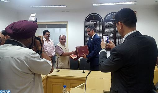 Le Maroc et l'Inde signent un mémorandum d'entente pour renforcer la coopération dans les domaines des mines et de la géologie