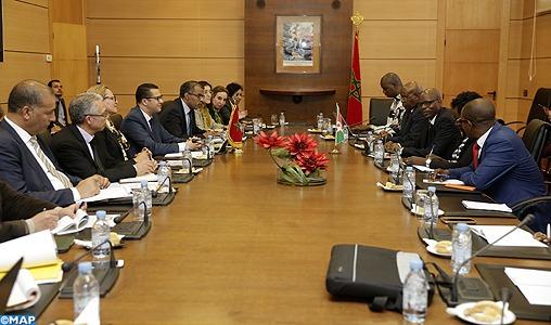 Le renforcement de la coopération en matière de formation professionnelle au centre d'entretiens maroco-burundais