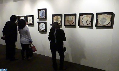 Vernissage à Lima d'une exposition de l'artiste peintre marocain Said Messari