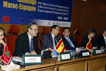 """Lancement à Rabat du projet de jumelage institutionnel Maroc-UE """"Appui au système de l'enseignement supérieur au Maroc"""""""