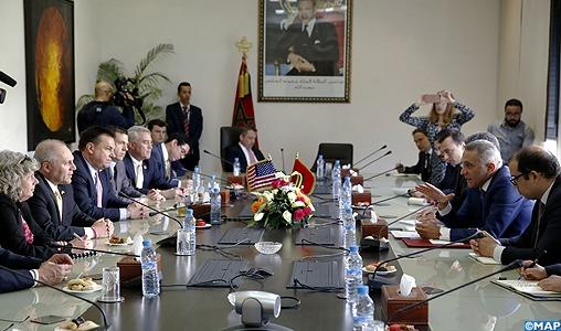 Les représentants du congrès américain ont exprimé leur détermination à booster les investissements américains au Maroc