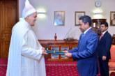 Le nouvel ambassadeur du Maroc à Malé présente ses lettres de créance au président des Maldives