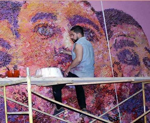 """Zakaria Ramhani expose à La Galerie 21 le 10 avril sur le thème du """"Double"""""""