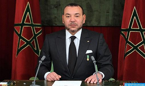 Texte intégral du message adressé par SM le Roi au Président de l'Etat de Palestine