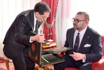 SM le Roi reçoit le Chef du gouvernement, le ministre de l'Intérieur et le ministre de l'Economie et des Finances