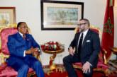 SM le Roi félicite le Président de la République du Congo à l'occasion de la fête nationale de son pays