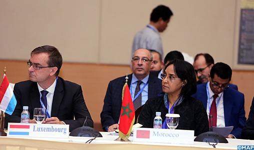 Mme Boucetta s'entretient avec des responsables de l'ASEAN et de la MRC