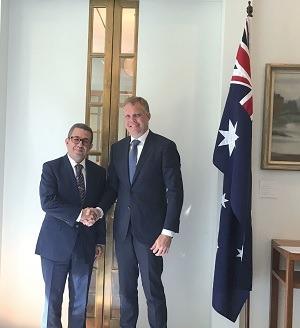 Karim Medrek : «L'Australie considère le Royaume comme un partenaire privilégié dans la région» (Suite)