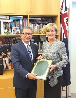 Karim Medrek : « Le partenariat avec l'Australie est un modèle »