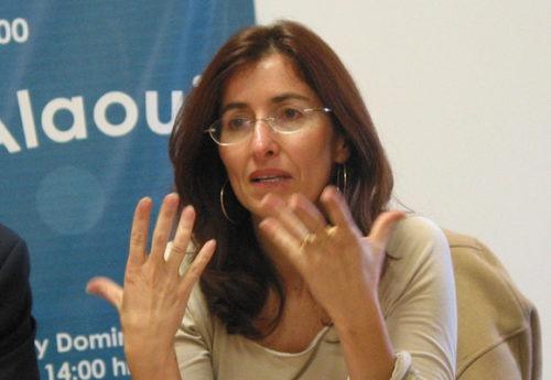 Brillante participation de la plasticienne marocaine Aziza Alaoui à l'exposition