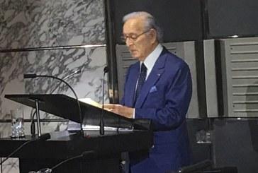 Othman Benjelloun , une profession de foi , un engagement international réaffirmé et le patriotisme porté comme un étendard