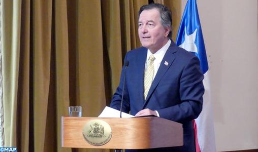 Le chef de la diplomatie chilienne réitère l'engagement de son pays en faveur de la démocratie et des droits de l'homme