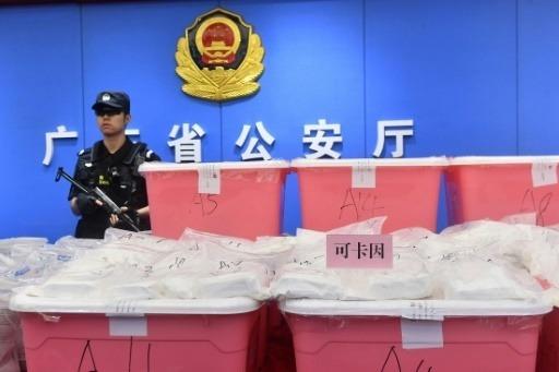 Chine: 1,3 tonne de cocaïne saisie