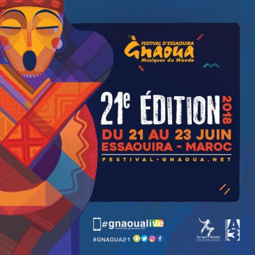 Casablanca, le 16 avril 2018. Le Festival Gnaoua et Musiques du Monde confirme son africanité lors de cette 21èmeédition qui aura lieu à Essaouira du 21 au 23 juin prochain. Avec,Fatoumata Diawarachanteuse, comédienne-auteure-compositrice-interprètemalienneetleGroupe Project BIM (Benin International Musical), uncollectif d'artistes béninois,le Festival est plus que jamais promoteur de l'Afrique créative.
