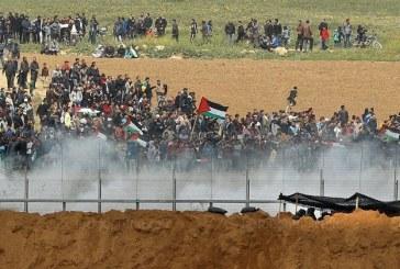 Gaza: Des manifestations sanglantes font 7 morts et des centaines de blessés