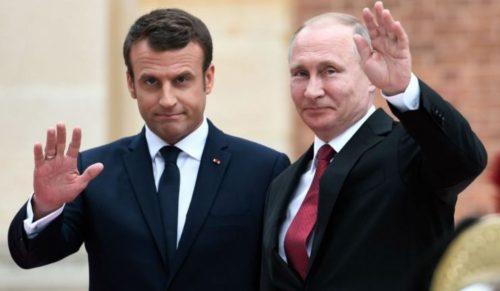 Nucléaire iranien : Macron et Poutine expriment leur volonté commune de préserver les acquis de l'accord de 2015