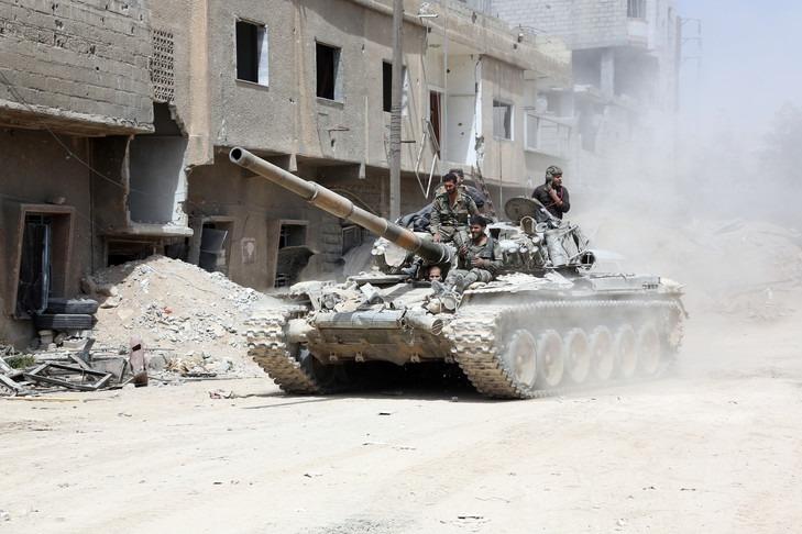 L'armée syrienne reprend la ville de Douma