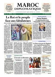 Le numéro 25 de Maroc diplomatique est dans les kiosques