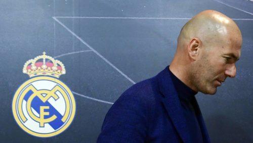 Liga : Zidane annonce son départ du Real Madrid