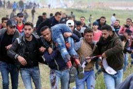 55 Palestiniens manifestant à la frontière de la bande de Gaza contre l'inauguration de l'ambassade américaine à Jérusalem ont été tués par l'armée israélienne