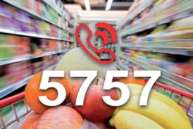 Le ministère de l'intérieur a lancé le mardi 15 mai, le numéro de téléphone 5757, destiné aux réclamations et remarques des consommateurs
