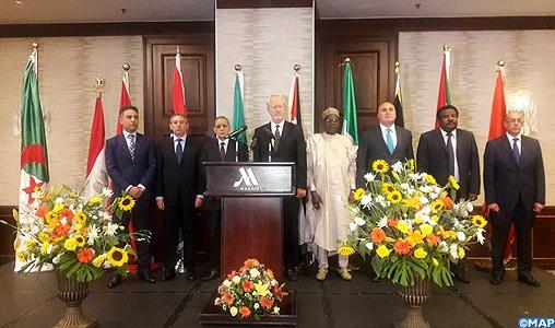 """Amman: L'ambassade du Maroc en Jordanie participe à la commémoration de la """"Journée de l'Afrique"""""""