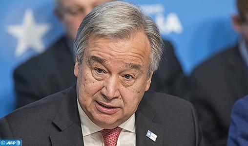 Question du Sahara: Le Secrétaire général de l'Onu met en garde contre toute action susceptible de modifier le statu quo