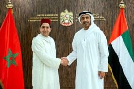 M. Bourita qui co-présidait, mardi 22 Mai à Abou Dhabi, avec son homologue émirati SA Cheikh Abdallah ben Zayed al-Nahyane, les travaux de la 5è session de la Commission mixte Maroc-Emirats arabes-unis