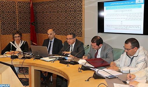 M. Boussaid appelle à des mesures pour pérenniser les ressources financières du Fonds d'appui à la cohésion sociale