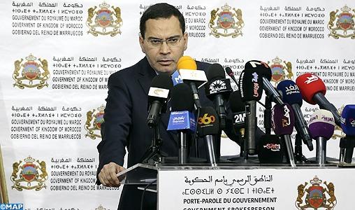 Mustapha El Khalfi qualifie de piraterie politique la saisie d'une cargaison de phosphates