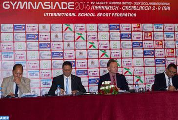 Gymnasiade 2018: Le président de l'ISF salue la bonne organisation et la qualité des infrastructures marocaines