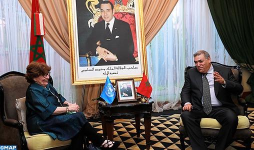 La responsable onusienne chargée de la migration met en relief à Marrakech le rôle central du Maroc dans la gestion de la problématique de la migration