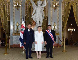 M. El Malki représente SM le Roi à la cérémonie d'investiture du nouveau président costaricain Carlos Alvarado